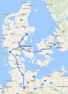 Denmark Map 1
