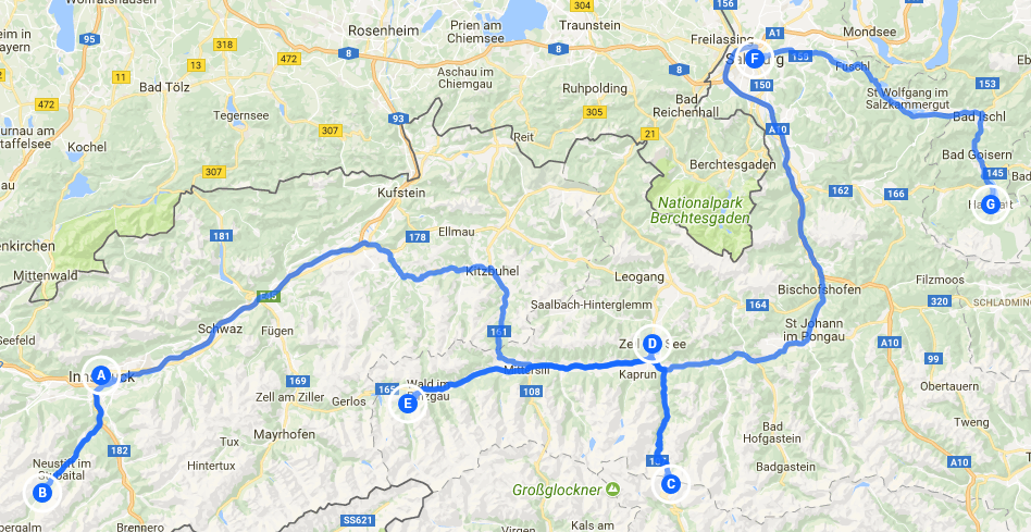 Austrian Alps - GB Motorhome Tours