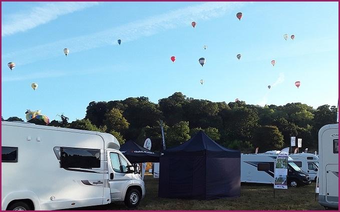 55989632e5 Bristol Balloon Fiesta Motorhome Show 11 08 2018