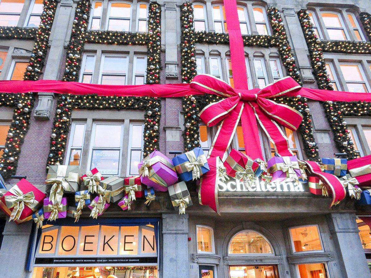 Magical Amsterdam Christmas Lights Gb Motorhome Tours